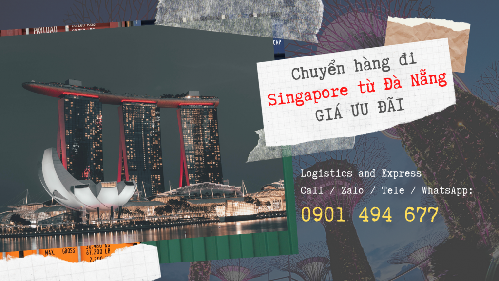 Chuyển hàng lẻ đi Singapore tại Đà Nẵng   Giá không đâu rẻ hơn !!!